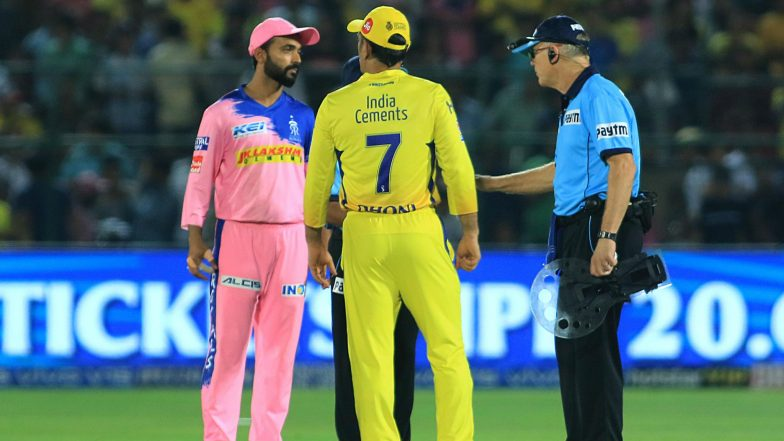 MS Dhoni Loses Cool in 100th IPL Win Against Rajasthan Royals, Former Stars Unhappy