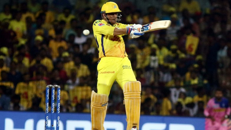 MS Dhoni Gets Rousing Welcome at Wankhede Stadium As He Comes Out to Bat During MI vs CSK IPL 2019 Match, Watch Video