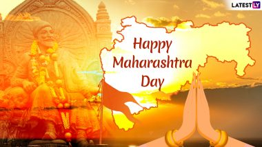 Maharashtra Day Images & HD Wallpapers With Quotes for Free Download Online: Wish Maharashtra Diwas 2019 With GIF Greetings & WhatsApp Sticker Messages