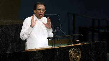 Sri Lankan President Maithripala Sirisena Extends State of Emergency