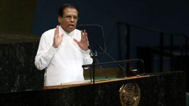 Sri Lankan President Maithripala Sirisena Extends State of Emergency