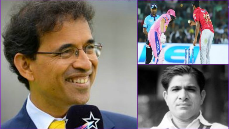 Vinoo Mankad's Family Takes Offence on 'Mankading' Term, Harsha Bhogle Supports, Twitter Divided!