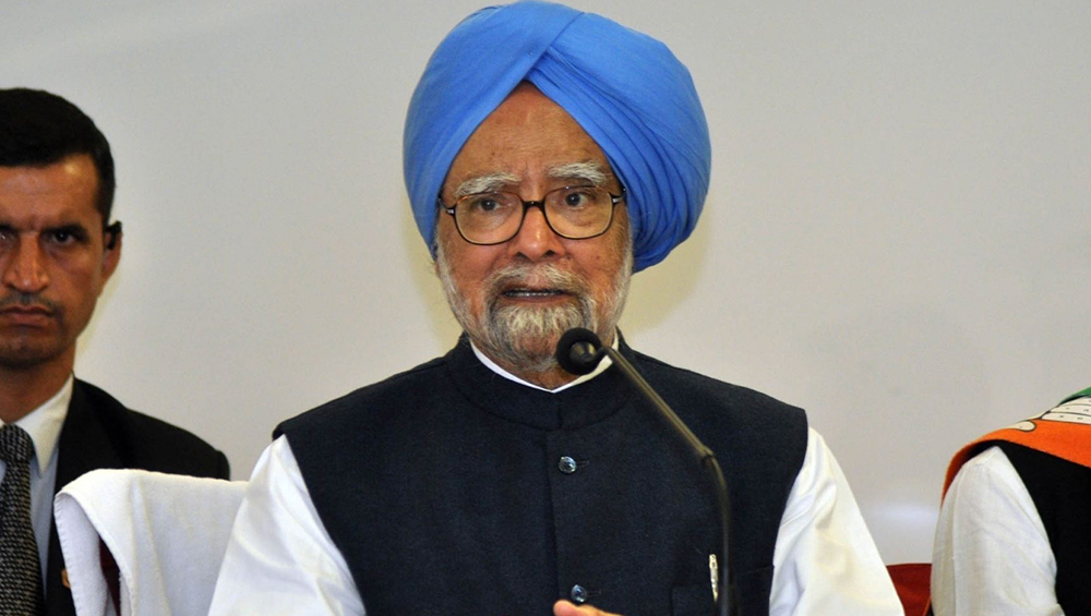 Former PM Dr Manmohan Singh (Photo Credits: IANS)