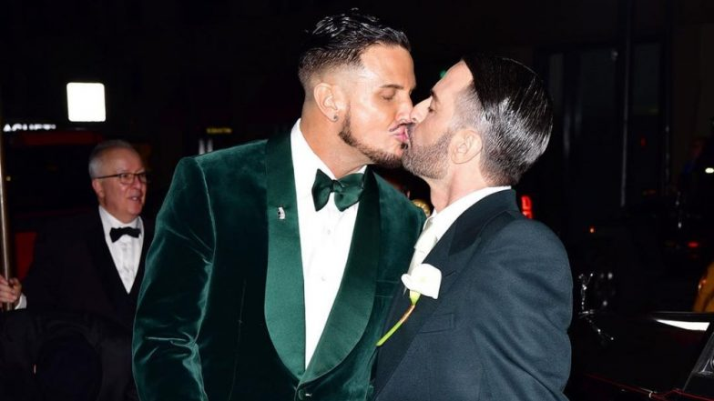 Fashion Designer Marc Jacobs Marries Boyfriend Char Defrancesco In An Intimate Ceremony - View All Pics