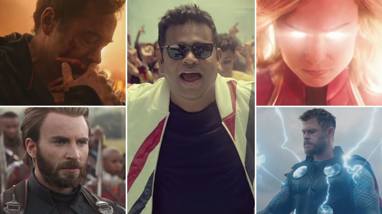 Avengers: Endgame Indian Anthem: AR Rahman Teams Up With The Marvel Superheroes And Delivers A Catchy Track - Watch Video!