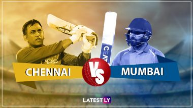 CSK vs MI Live Cricket Score of IPL 2019 Match: Get Live Updates of Chennai Super Kings vs Mumbai Indians