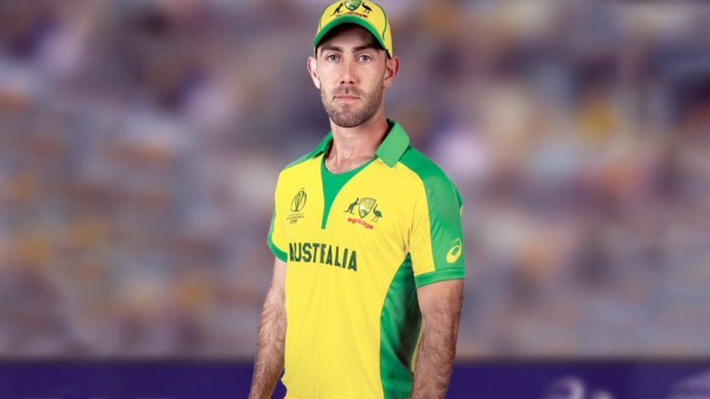 ICC World Cup 2019 Kit: Apparel Manufacturer ASICS Uses Aussie Batsman Glen Maxwell to Unveil Australia's World Cup Jersey