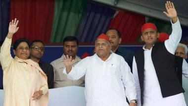 Mayawati Shares Stage With Mulayam Singh Yadav, Calls Him 'True Backward Leader, Unlike Fake Narendra Modi'