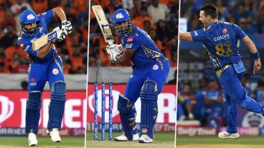 Watch Mumbai Indians Players Rohit Sharma, Kieron Pollard and Mitchell McClenaghan Dance With Kids During ESA Activity Ahead of MI vs RR IPL 2019 Match (Watch Video)