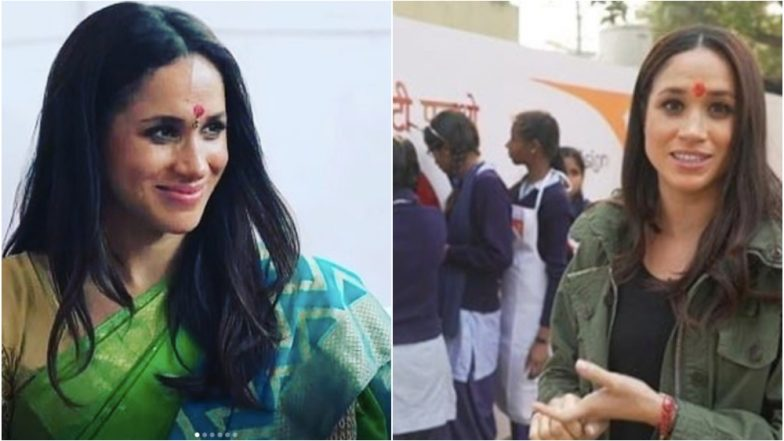 Meghan Markle Wore a Saree during her India Trip, a Never-Seen-Before Footage of the Duchess' Visit is Now Going Viral