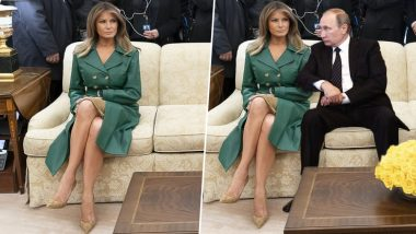 Melania Trump's Birthday Picture Shared by White House Becomes Newest Meme Material, Check Funny Tweets