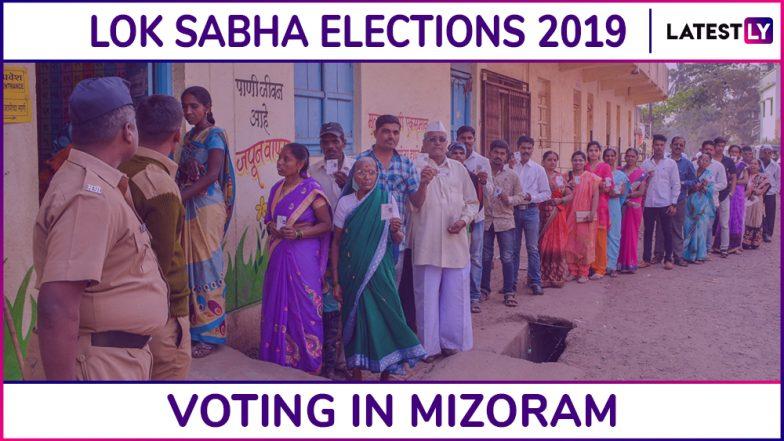 Mizoram Lok Sabha Elections 2019: Phase I Voting Underway, 55.20% Voter Turnout Until 3 PM