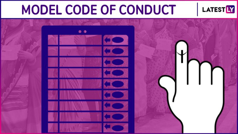 Model Code of Conduct Comes Into Effect as EC Announces Maharashtra, Haryana Assembly Elections 2019 Dates: What is MCC or Aachar Sanhita?