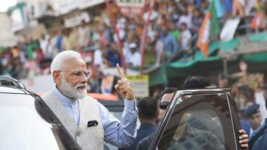 PM Modi Violated Poll Code With 'Roadshow' in Ahmedabad? Election Commission Seeks Report After Congress Complaints