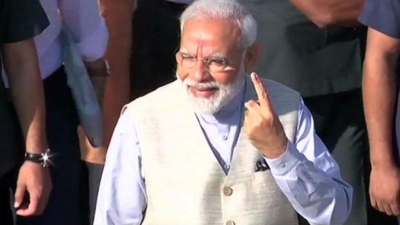 Lok Sabha Elections 2019: Narendra Modi Expresses Gratitude to People of Kashi, Urges Them to Vote in Huge Number