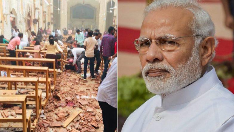 Sri Lanka Terror Attacks: PM Narendra Modi Condemns Easter Sunday Serial Blasts, Says 'No Place For Such Barbarism'