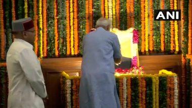 Ambedkar Jayanti 2019: President Ram Nath Kovind, PM Narendra Modi Pay Tribute to Architect of Indian Constitution