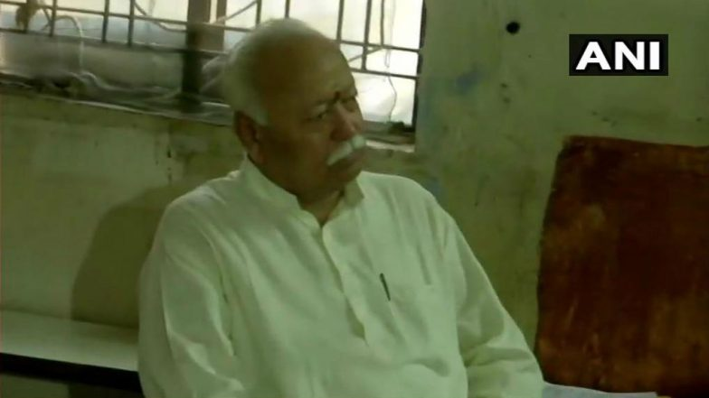 Mohan Bhagwat Opposes NOTA Says 'Voting is Our Duty, Everyone Should Vote'