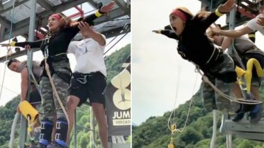 Monali Thakur's Bungee Jumping Slow-Mo Video Will Give You An Instant Dose Of Thrills!