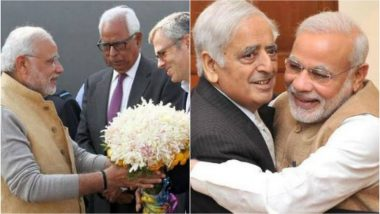 Mehbooba Mufti, Omar Abdullah Hit Back With Old Photos After PM Modi Levels Anti-India Charge