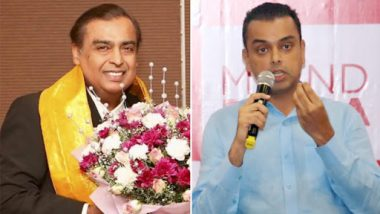 Mukesh Ambani Endorses Congress Candidate Milind Deora For Lok Sabha Elections 2019, Says 'He's The Man For South Mumbai'; Watch Video