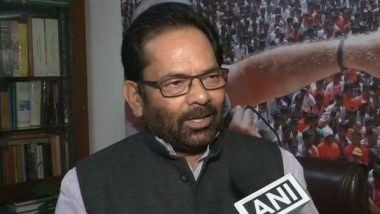 FDI Policy Changes Will Bring In More Investments: Mukhtar Abbas Naqvi
