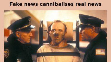 Mumbai Police Uses Witty Hannibal Lecter Reference To #KillFakeNews - View Tweet