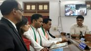 Shivaji Bust Row: Kamal Nath's MP-Son Nakul Nath Announces Installation of 2 Life-Size Statues of Late Maratha King