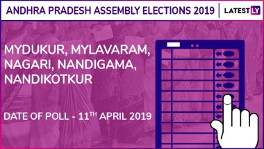Mydukur, Mylavaram, Nagari, Nandigama, Nandikotkur Assembly Elections 2019: Candidates, Poll Dates, Results of Andhra Pradesh Vidhan Sabha Seats