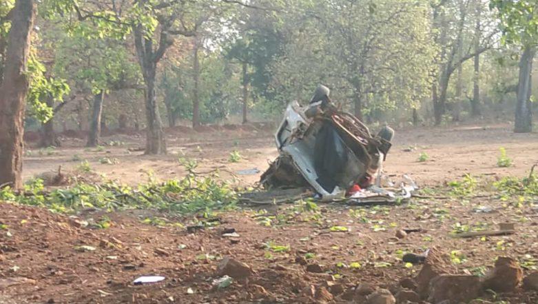 Maoists Attack BJP Convoy in Chhattisgarh's Dantewada, MLA Bhima Mandavi Among Six Killed