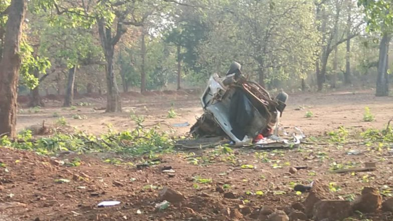 Maoists Attack BJP Convoy in Chhattisgarh's Dantewada MLA Bhima Mandavi Among Six Killed