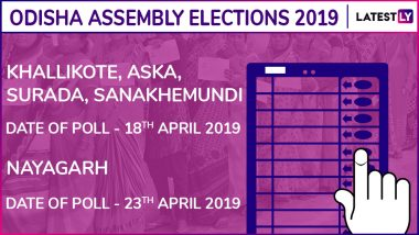 Khallikote, Aska, Surada, Sanakhemundi, Nayagarh Assembly Elections 2019: Candidates, Poll Dates, Results of Odisha Vidhan Sabha Seats