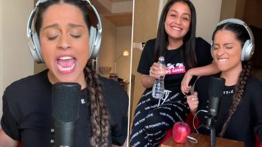 Lilly Singh Tries to 'Facetune' With Neha Kakkar, Watch Her Sing 'Aankh Marey' in This Video!