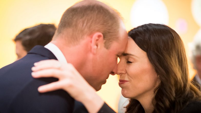 Prince William Receives Traditional Maori Welcome From NZ PM Jacinda Ardern; Duke of Cambridge Attends Anzac Day Service