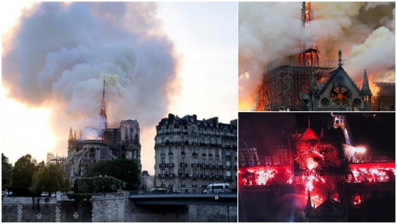 Notre-Dame Cathedralin Paris Goes up in Flames, Know the History And Facts of Famous French Tourist Attraction (Watch Pics and Videos)