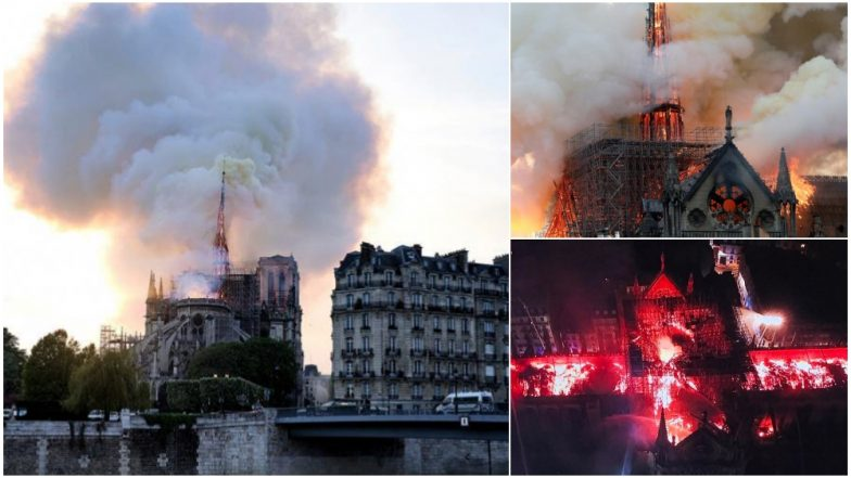 Notre-Dame Cathedral in Paris Goes up in Flames, Know the History And Facts of Famous French Tourist Attraction (Watch Pics and Videos)