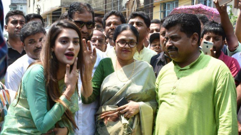 Muslim Cleric Opposes Nusrat Jahan's Temple Visit in Basirhat, Alleges Thrashing By TMC Workers in West Bengal