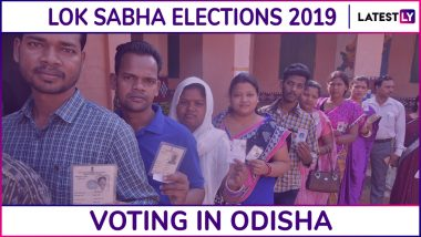 Odisha Lok Sabha Elections 2019: Phase 4 Voting Concludes in Mayurbhanj, Balasore, Bhadrak And three Other Parliamentary Constituencies; 64.05% Voter Turnout Recorded
