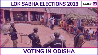 Odisha Lok Sabha, Assembly Elections 2019: Phase 3 Voting Ends for Dhenkanal, Puri, Sambalpur, 3 Other Parliamentary & 42 Assembly Seats, 58.18% Voter Turnout Recorded