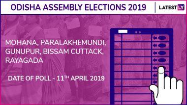 Mohana, Paralakhemundi, Gunupur, Bissam Cuttack, Rayagada Assembly Elections 2019 Results: Candidates, Names of Winning MLAs of Odisha Vidhan Sabha Seats