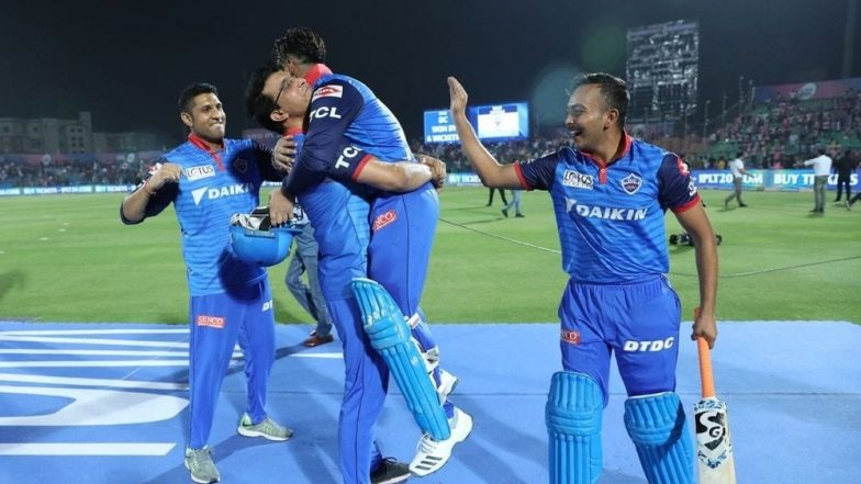 Rishabh Pant Lifted by Sourav Ganguly After DC's Win Against RR; Former Cricketer to Pant, 'You Are Wow'