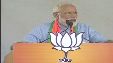 PM Narendra Modi at Moradabad Rally: 'Security Forces Avenged Uri and Pulwama, Pakistan Knows Third Mistake Will Prove Costly'