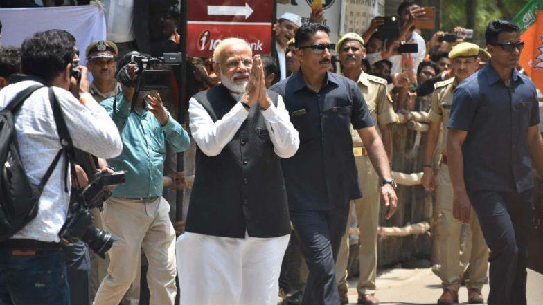 PM Narendra Modi Has Net Worth of Rs 2.5 Crore, Holds MA Degree From Gujarat University, Says His Lok Sabha Election 2019 Affidavit