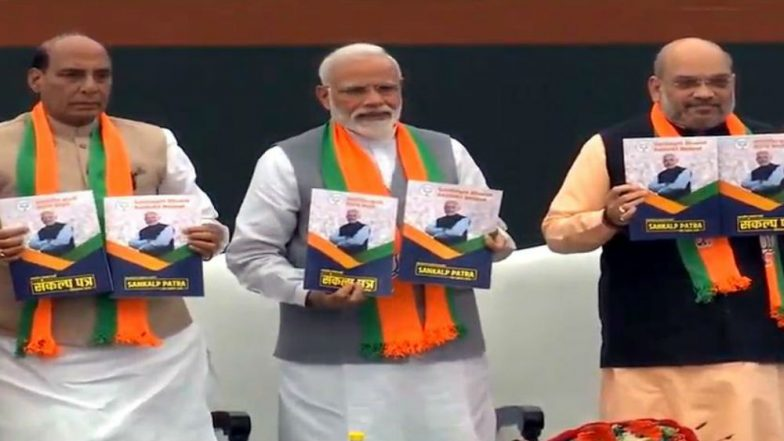 BJP Manifesto Promises 'Laws to Commit Crime Against Women', Twitter Goes Berserk at Gaffe