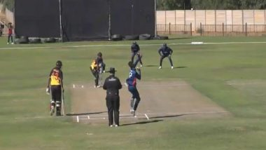 Live Cricket Streaming of Papua New Guinea vs United States Online: Check Live Cricket Score, Watch Free Live Telecast of ICC World Cricket League Division Two 2019