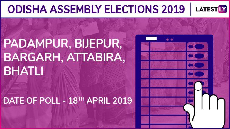 Padampur, Bijepur, Bargarh, Attabira, Bhatli Assembly Elections 2019: Candidates, Poll Dates, Results Of Odisha Vidhan Sabha Seats