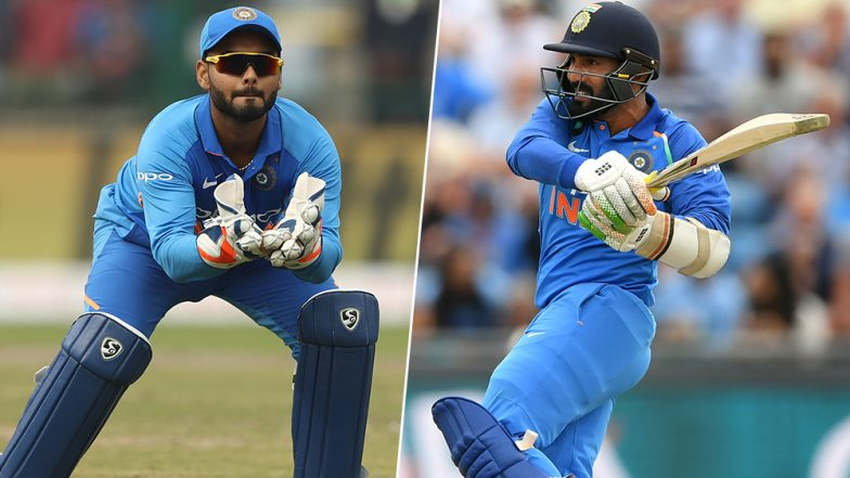 Rishabh Pant vs Dinesh Karthik in Team India for ICC World Cup 2019! Cricket World Cup Twitter Handle Runs a Poll on The Selection