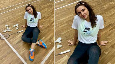 Parineeti Chopra As Saina Nehwal: Pari Shares Her 'Post Training Bliss' Moment! View Pic