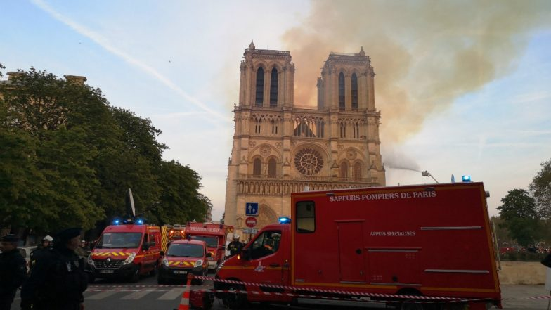Paris Fire: Firefighters Battle to Save Iconic Notre Dame Cathedral