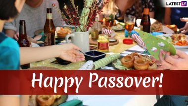 Passover 2019 Messages: Pesach WhatsApp Messages, Images to Send on The Auspicious Festival of Jews